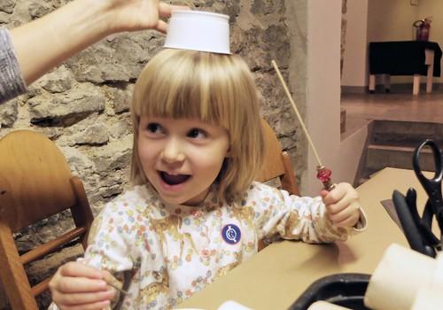 Muuseumisse kuni kolmeaastase väikelapsega