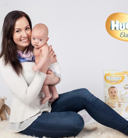 Huggies® mähkmed ja Eesti põnnid: Elite Soft ja pisike Mirko