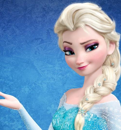 Disney keelas Elsa ja Olafi pildiga lastešampuse