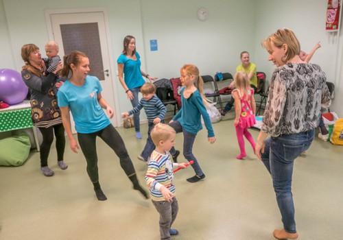 Sobiv trenn lapsele - tantsimine