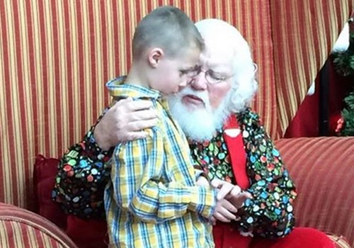 Jõuluvana sõnum autistist poisile: sina ise olla on okei!