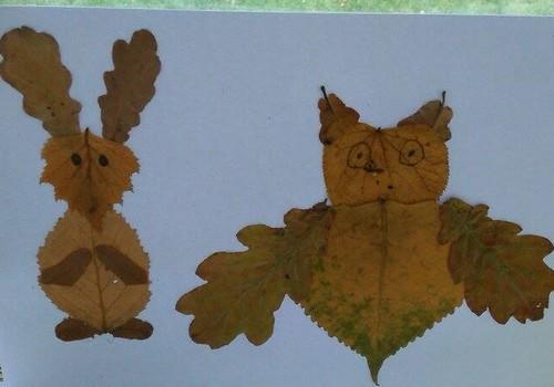 Meisterdame sügisest: lehtedest loomad
