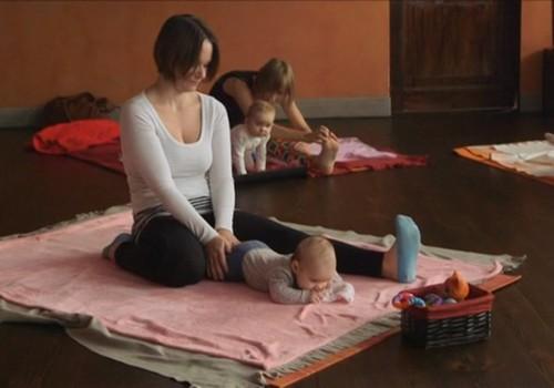VIDEO! Beebipäevik: ema ja lapse jooga
