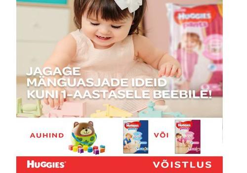LOOSIMÄNG! Jagage ideid mänguasjadest, mis sobivad ja meeldivad alla 1-aastastele beebidele!