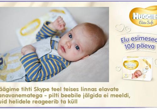 Huggies® Elite Soft esitleb: Beebi 100 esimest elupäeva (99. päev)