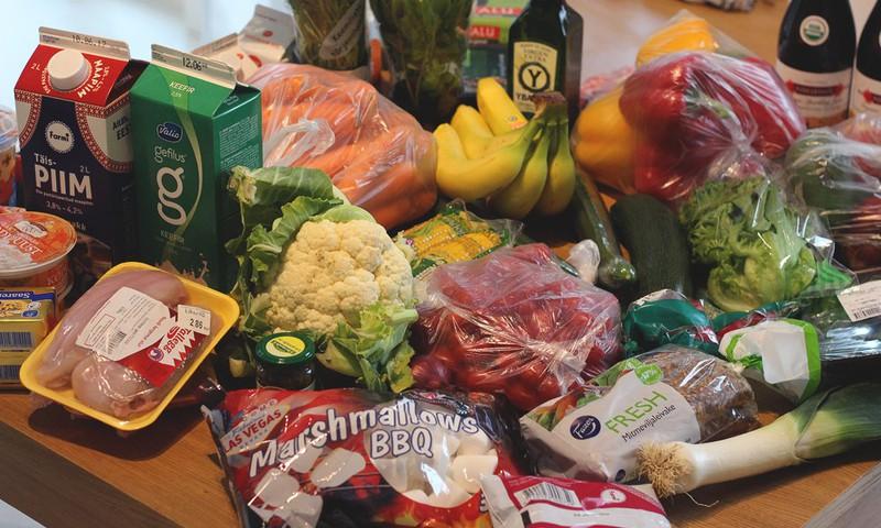 10 põhjust, miks osta toitu vaid korra nädalas, võimalusel e-poest