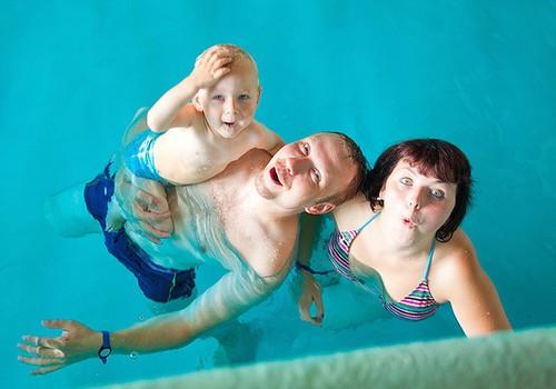 Pisikeste ujumiskool: veekeskuse tutvustus