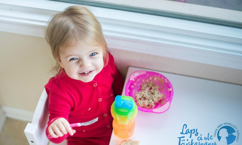 Tasuta loeng lapse toitumise teemal