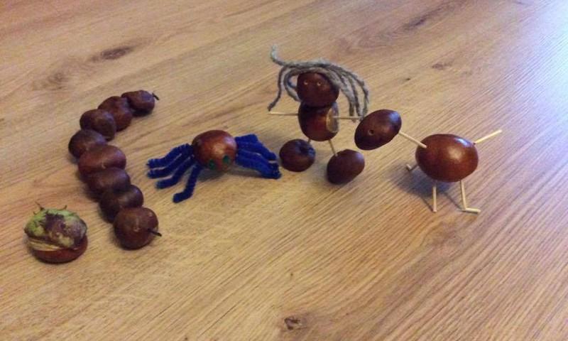 Meisterdame sügisest: kastaniloomad