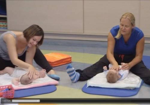 VIDEO! Beebipäevik: massaaži- ja akrobaatikatund