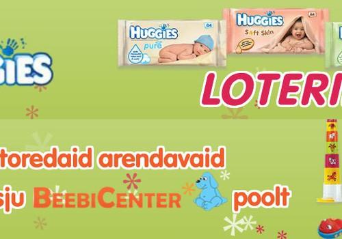Võta osa Huggies ® niiskete salvrätikute loteriist ja võida arendavaid mänguasju iga nädal!