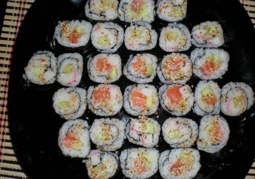 Meie esimene sushi-tegu