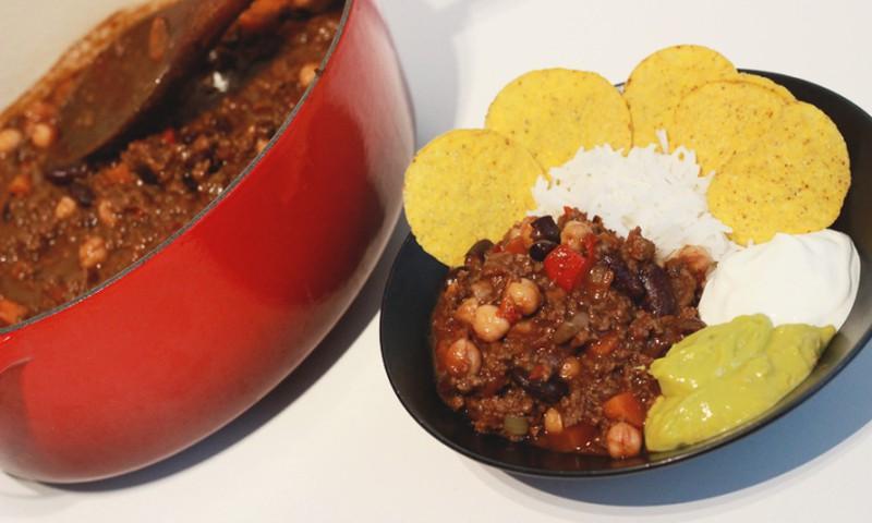 Õhtusöögiidee: Chili con carne
