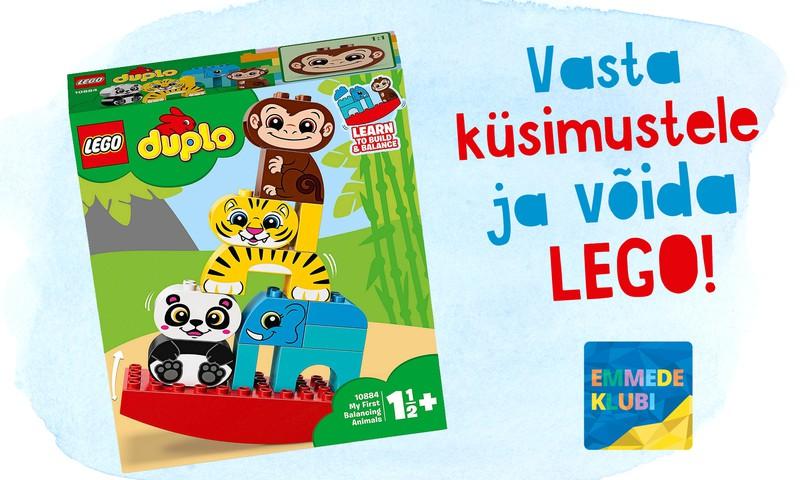 Vasta küsimustele ja võida LEGO!