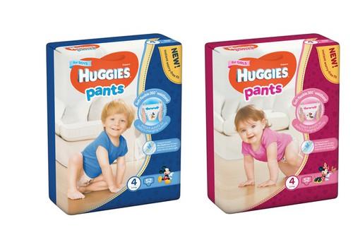 Uued ja veelgi paremad Huggies® Pants püksmähkmed!