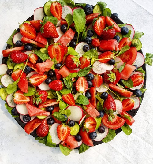 Gerri blogi: Salatimandala ehk selle suve värskeim salat