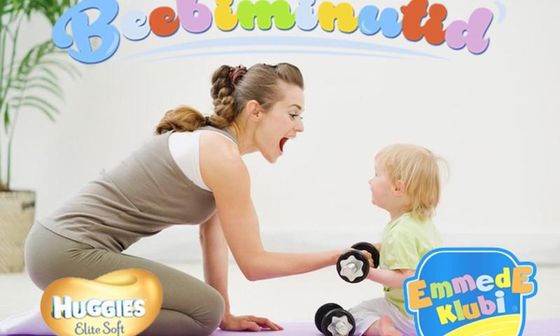 VIDEO! Beebiminutid: Võimlemistund beebile koos Vello Vaheriga