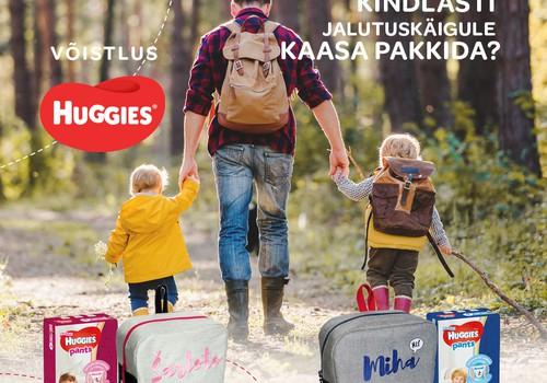 LOOSIMINE! Võida personaliseeritud seljakott ja püksmähkmed!