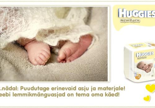 Kaheteistkümnes nädal koos Huggies® Newborn mähkmetega