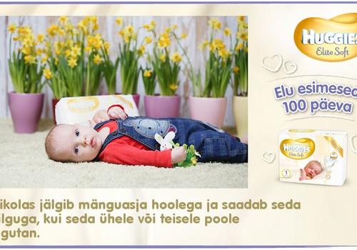 Huggies® Elite Soft esitleb: Beebi 100 esimest elupäeva (94. päev)