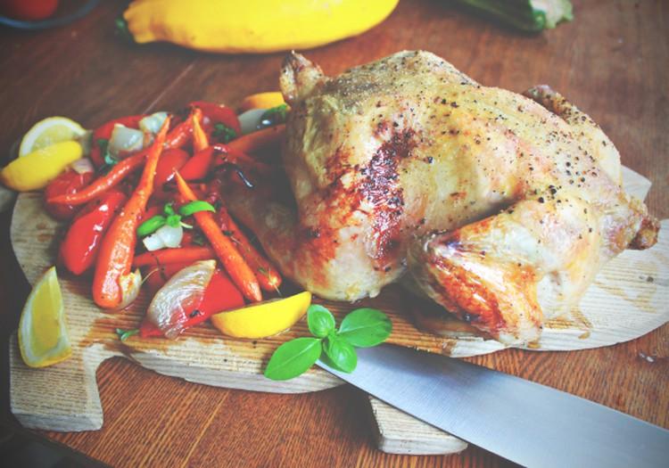 Õhtusöögiidee: Sidruni, küüslaugu ja köögiviljadega ahjukana
