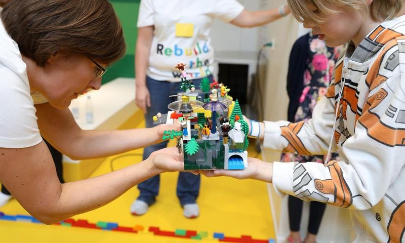 LEGO® klotsid - lõputu allikas lapse fantaasialennule