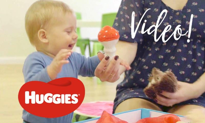 VIDEO! 8-12 kuu vanuse lapsega mängimine