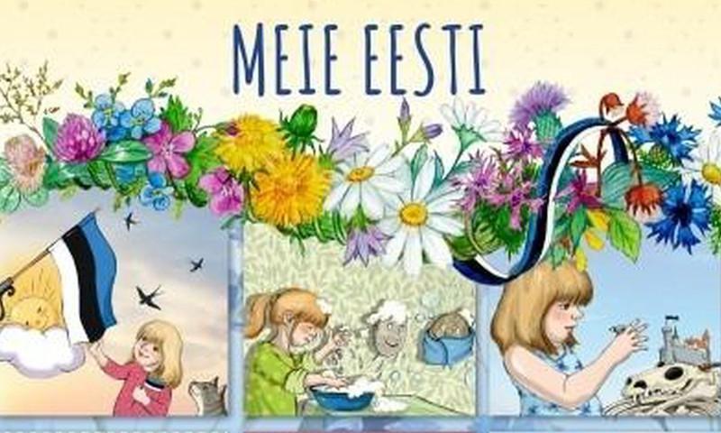 Viis lasteraamatut, mis tutvustavad koolieelikule Eestit