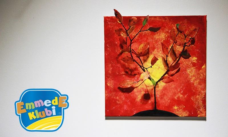 Meisterdame sügisest: Sügisvärvides puu lõuendil