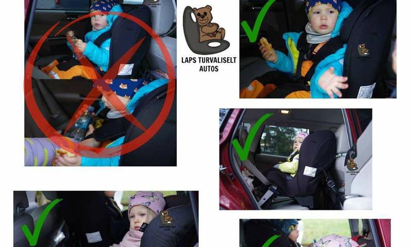 Nõuandeid lapse riietamiseks autosõiduks turvatoolis