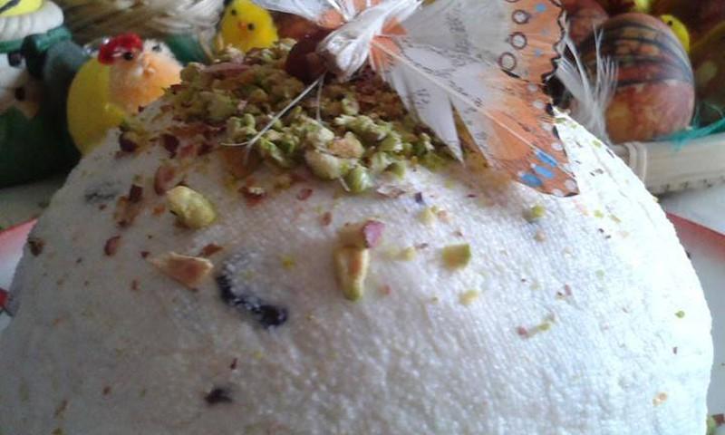 Kohupiimapasha keedetud munarebudega