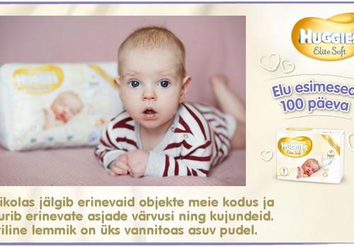 Huggies® Elite Soft esitleb: Beebi 100 esimest elupäeva (90. päev)