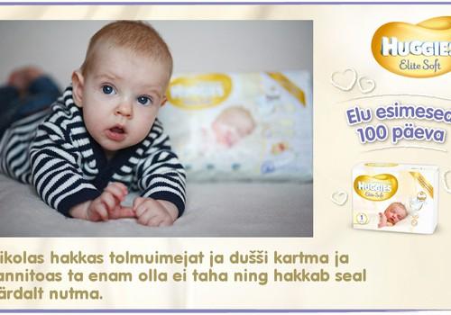 Huggies® Elite Soft esitleb: Beebi 100 esimest elupäeva (97. päev)