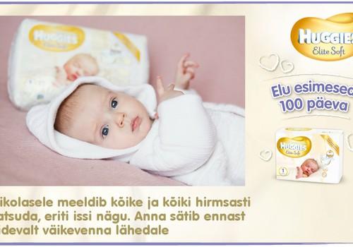 Huggies® Elite Soft esitleb: Beebi 100 esimest elupäeva (91. päev)