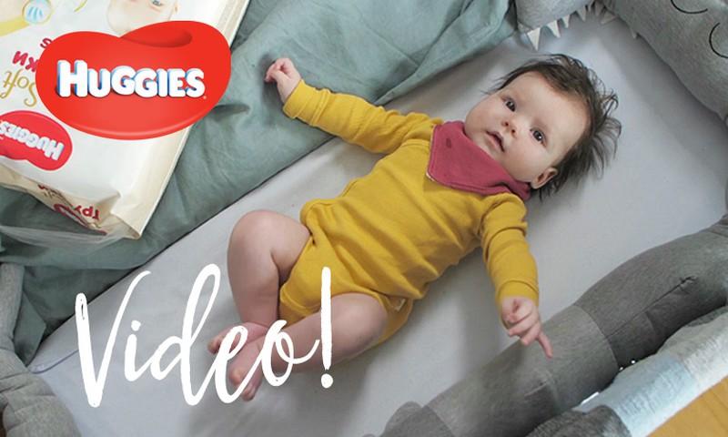 VIDEO! Beebi areng neljandal elukuul | HUGGIES®