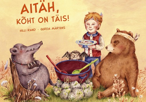 Raamatusoovitus kõigile lastele, kellel on närb söögiisu